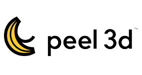logo peel 3D